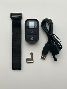 Gopro Wifi Remote Control with wrist strap, charging cable