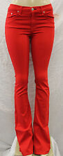 NWT WOMEN'S RAG & BONE PANTS ELEPHANT BELL RED STY#W1523T240 SIZE:25-31