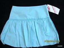 Tutu Moi Blue Zipper Bubble Ruffle Skirt L Nwt New