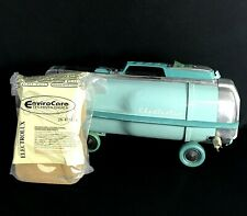 Vintage Electrolux Model G Vacuum Cleaner ONLY Bags Working Turquoise 1960's