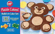 Animal Puzzle Cake Silicone Build-A-Cake Set from Wilton 9452 - NEW