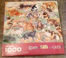 Springbok Cats, Cats, Cats, Cats, Cats Vintage Jigsaw Puzzle 1000 Pieces