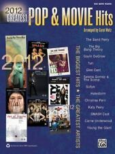 Greatest Pop and Movie Hits: 2012 Greatest Pop and Movie Hits : Big Note Piano