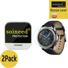[2-PACK] SOINEED Tempered Glass Screen Protector For Samsung Gear S3 Classic