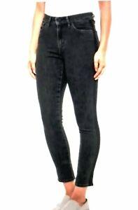 LEVIS 721 WOMEN'S SLIM BLACK PANTS