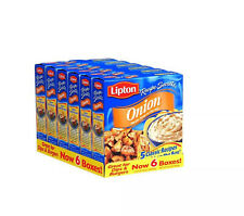 Lipton Onion Recipe Soup and Dip Mix 6 Boxes - 2 oz. (56.7g)