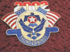 "2002 USAF THUNDERBIRDS Patch - Nellis AFB   ""Mint"""