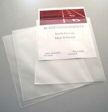 50x A4 Sichttasche Sichthülle Klarsichthülle Klarsichttasche Dokumententasche