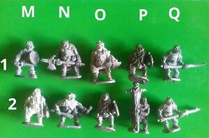 25x CM21 orc warriors nick lunds chronicle minitures via citadel pre-slotta orcs