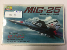 Ace 1:144 Scale Mikoyan MIG-25 Foxbat Plastic Model Kit