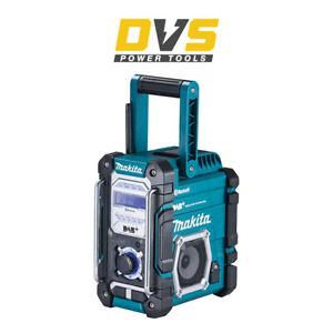 Makita DMR112 DAB/DAB+ FM Jobsite Radio with Bluetooth Cordless 7.2-18v Li-Ion