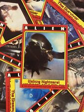 (16) Lot Of 1979 Topps Alien Trading Cards Xenomorph