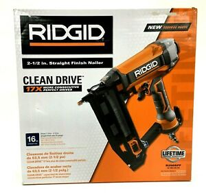RIDGID R250SFF 16-Gauge 2-1/2 in. Straight Finish Nailer