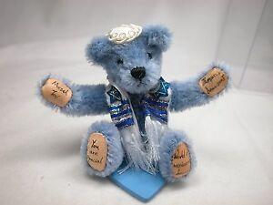 "World of Miniature Bears By Theresa Yang  3"" Mohair Bear MazelTov #989B"