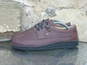 Finn Comfort Shoes Size EU42 UK8 Made In Germany Brown Brogue oi polloi vintage