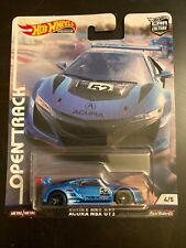 Hot Wheels Car Culture Open Track Acura Nsx Gt3 Real Riders