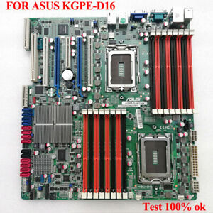 FOR ASUS KGPE-D16 AMD G34 Dual-Channel Opteron Server Motherboard Test ok