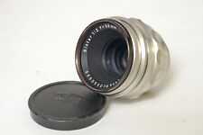 F90073~ Carl Zeiss 58mm f/2 Biotar Red T Exakta Mt Lens – 12 Blade Excellent Gla