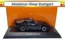 Porsche 924 GT schwarz 1981 - Minichamps 1:43 - 940 066124 neu