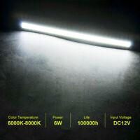 10x17cm White LED COB Strip DRL Daytime Running Lights Fog Car Lamp Waterproof