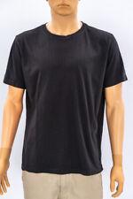 H&M Hombre Negro Básico de Manga Corta Camiseta Top XL Extra Grande Adulto