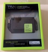 TYLT Zumo Portable Battery Pack 1500mAh Power Bank 30-Pin For iPod iPhone