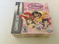 Disney Princess Royal Adventure (Nintendo Game Boy Advance, 2003) GBA NEW!!
