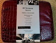 Fauna Collection 10 Netbook Sleeve Black Crock Print