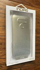 Incipio Design Series Case for LG G6 - Clear With Silver Glitter (Glam Case)