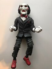 "RARE NECA SAW 12"" PUSH BUTTON SOUND HORROR ACTION FIGURE PUPPET - LOOSE"