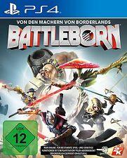 Battleborn mit Erstgeborenen-Paket und Charakterkarten - PlayStation 4 / PS4 NEU
