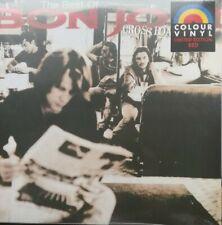 BEST OF BON JOVI - CROSSROAD LP LIMITED EDITON DOUBLE ALBUM  RED VINYL SEALED