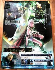 FINAL FANTASY XIII RARO PS3 0,5 CM X 73 giapponese PROMO POSTER # 1