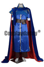 Fire Emblem New Mystery of the Emblem Lodestar Marth Game Cosplay Costume L005