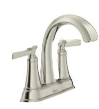 "American Standard Rumson 4"" Centerset 2-Handle Bathroom Faucet in Polished"