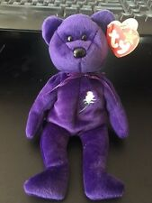 Ty Beanie Baby ~ PRINCESS DIANA 1997 P.E. PELLETS - MINT with TAGS