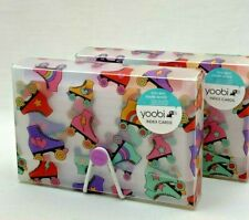 2 Pack Yoobi 3 X 5 Index Cards 100 Each With Card Holder 4708