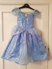 Rare Girls DISNEY Parks AGE 3-5 Years Cinderella Blue DRESS COSTUME