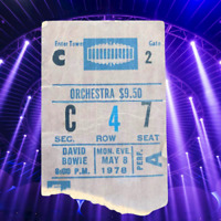 David Bowie Ticket Stub - May 8, 1978 - Isolar II Heroes Stage Tour NYC MSG