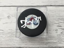 David Jones Signed Colorado Avs Avalanche Hockey Puck Autographed a