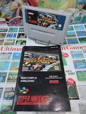 Super Nintendo SNES:F1 Pole Position [TOP & 1ERE EDITION] SANS BOITE - Fr