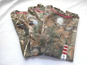 Realtree Xtra Ladies Fitted T Shirts - You Pick - Turkey Duck Deer Hunting Green