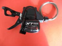 Schalthebel SL-T670 SHIMANO Deore LX 3fach links Rapidfire Plus schwarz NEU