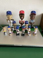 Lot Of MLB Bobbleheads Griffey Sosa Rodriguez Nomo Cubs Dodgers