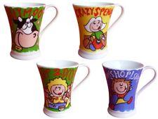 Aktion Porzellan Komplettset 4 Tassen Kaffe Milchtasse Teetasse 5442 Shopping