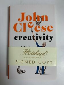 John Cleese SIGNED BOOK Creativity 1ST EDITION Hardcover ~ Monty Python Actor