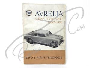 LANCIA AURELIA B20 1956 USER MANUAL LIBRETTO USO E MANUTENZIONE 2500