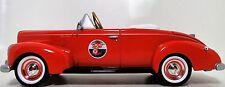 Pedal Car Rare 1940s Ford Vintage Hot Rod Red Sport Midget Metal Model