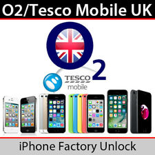 O2 TESCO UK iPHONE 4/4S/5/5S/5SE/5C/6/6+/6S/6S+/7/7+ UNLOCK - CLEAN