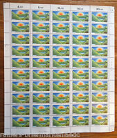 Bund 1052 postfrisch kompletter Bogen BRD Naturschutzgebiete Full sheet MNH